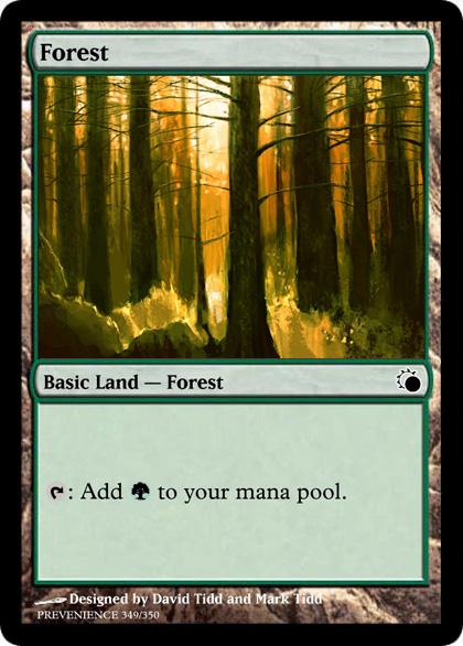 A land card